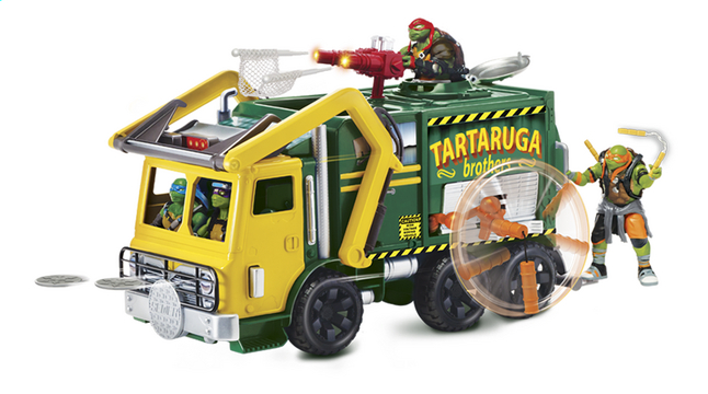 Afbeelding van Speelset Teenage Mutant Ninja Turtles: Out of the Shadows Turtle Tactical Truck from ColliShop