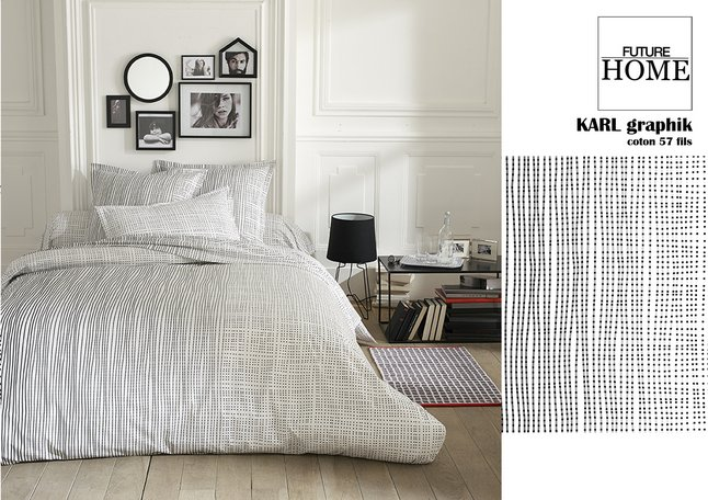 Image pour Future Home Housse de couette Karl coton 140 x 200 cm à partir de ColliShop