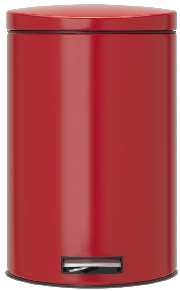 Image pour Brabantia poubelle à pédale 20 l Passion Red à partir de ColliShop