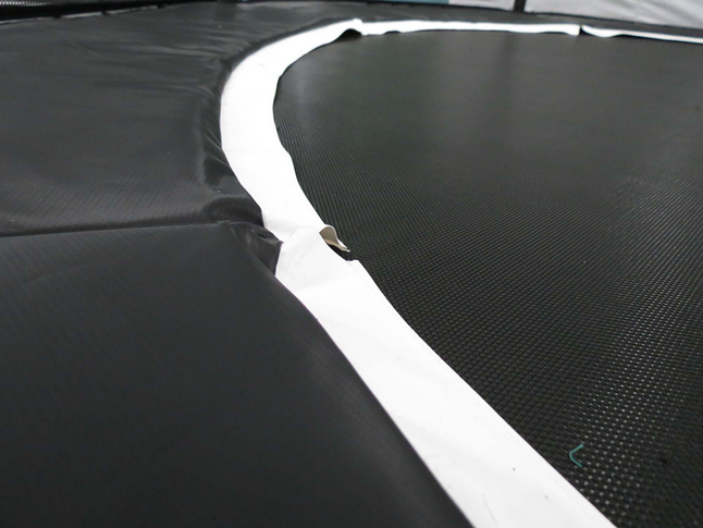 Beschermrand voor trampoline Black Edition Ø 3,66 m