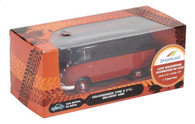 fe5de4e941f Afbeelding van DreamLand auto Luxe wagenpark Volkswagen Delivery Van Type 2  (T1) zwart/