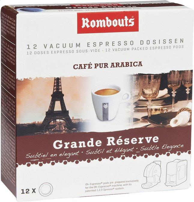 Image pour Rombouts Dosettes de café Grande Réserve - 7 boîtes à partir de ColliShop