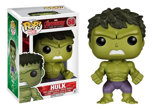 Afbeelding van Funko figuur Avengers Pop! Hulk from ColliShop
