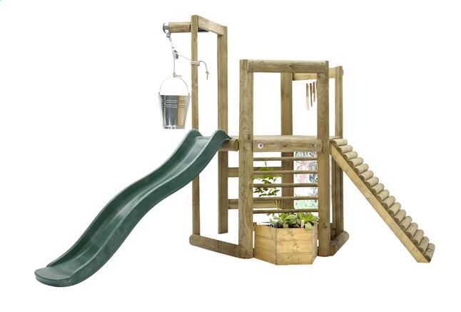 Afbeelding van Plum houten speelhuisje Discovery Woodland from ColliShop