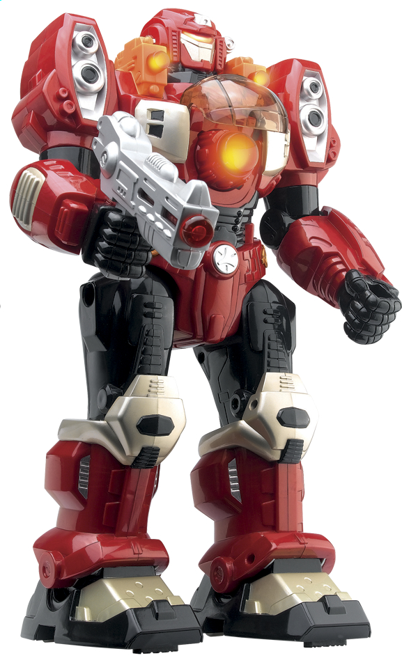 Image pour Robot M.A.R.S. Turbotron rouge à partir de ColliShop