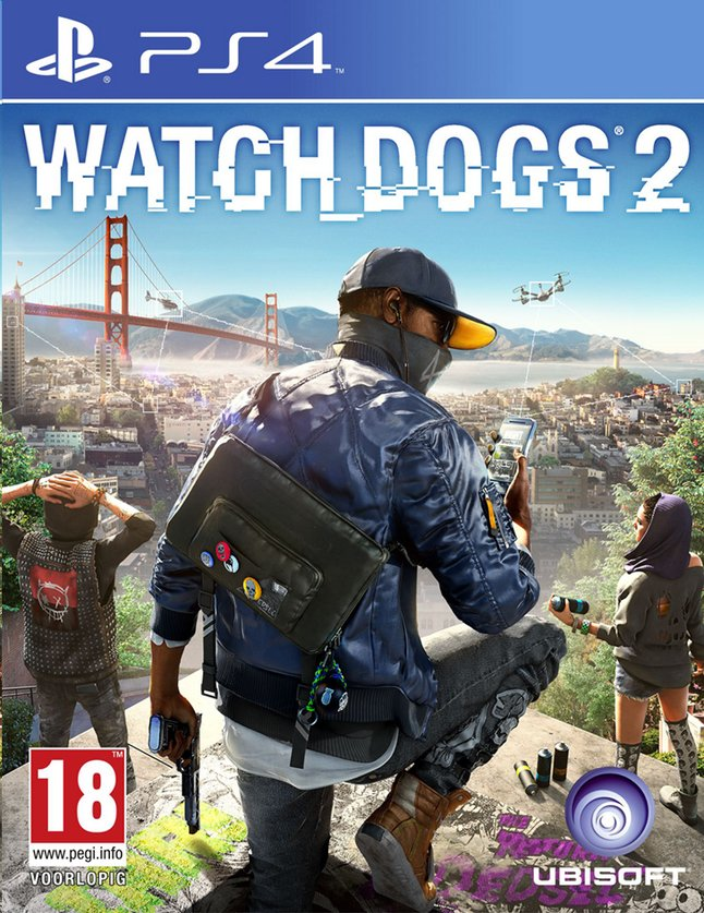 Image pour PS4 Watch Dogs 2 FR/ANG à partir de ColliShop