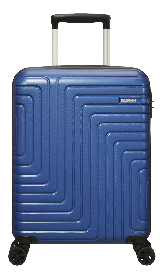 Afbeelding van American Tourister trolley Mighty Maze Navy 55 cm from ColliShop