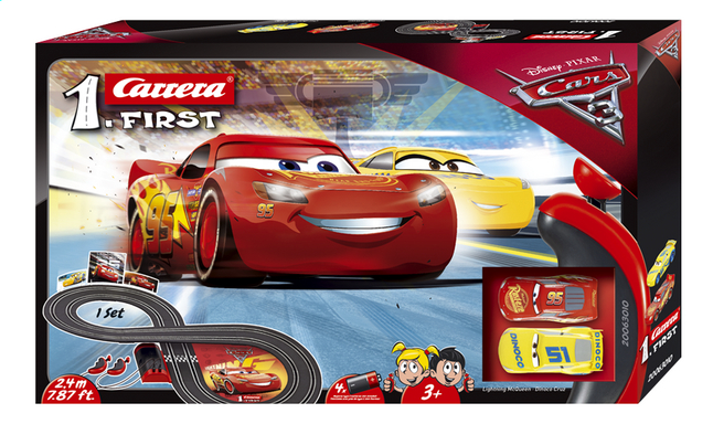 carrera first circuit disney cars 3 collishop. Black Bedroom Furniture Sets. Home Design Ideas