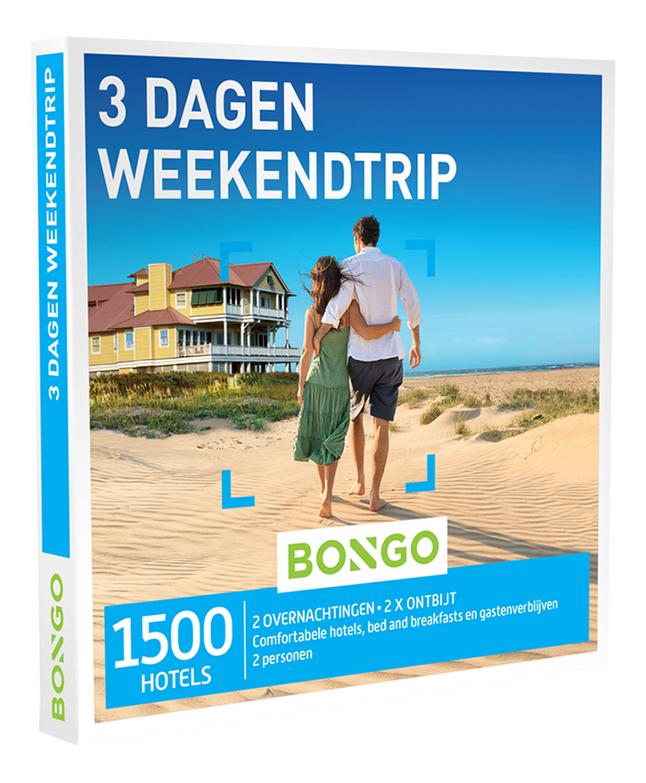 Afbeelding van Bongo cadeaubon 3 Dagen Weekendtrip from ColliShop