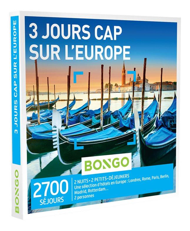 Bongo 3 Jours Cap sur l'Europe