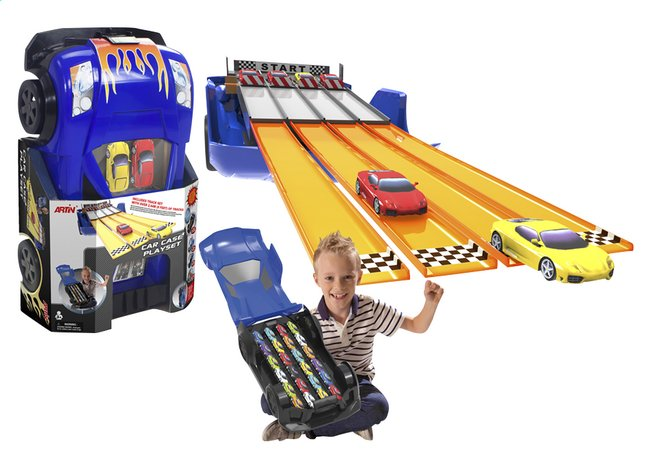 Afbeelding van Artin speelset Car Case playset from ColliShop