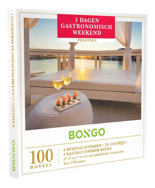 Afbeelding van Bongo cadeaubon 3 Dagen Gastronomisch Weekend from ColliShop