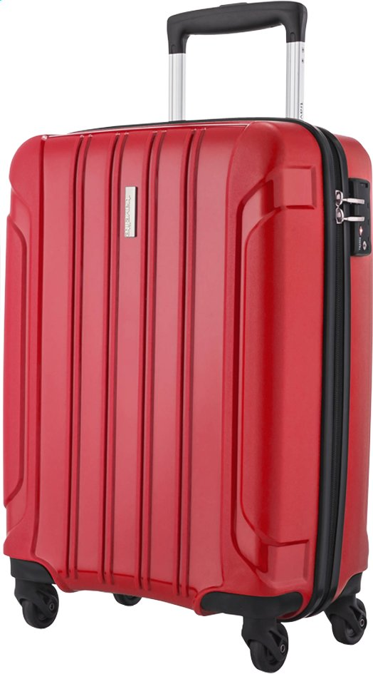 Image pour Travelite Valise rigide Colosso Spinner rouge à partir de ColliShop