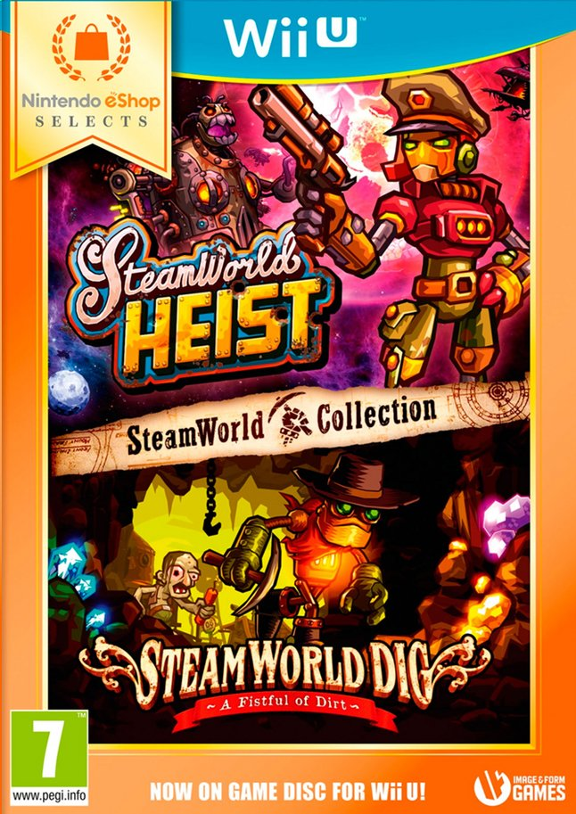 Afbeelding van Nintendo Wii U Steamworld Collection eShop Selects NL from ColliShop