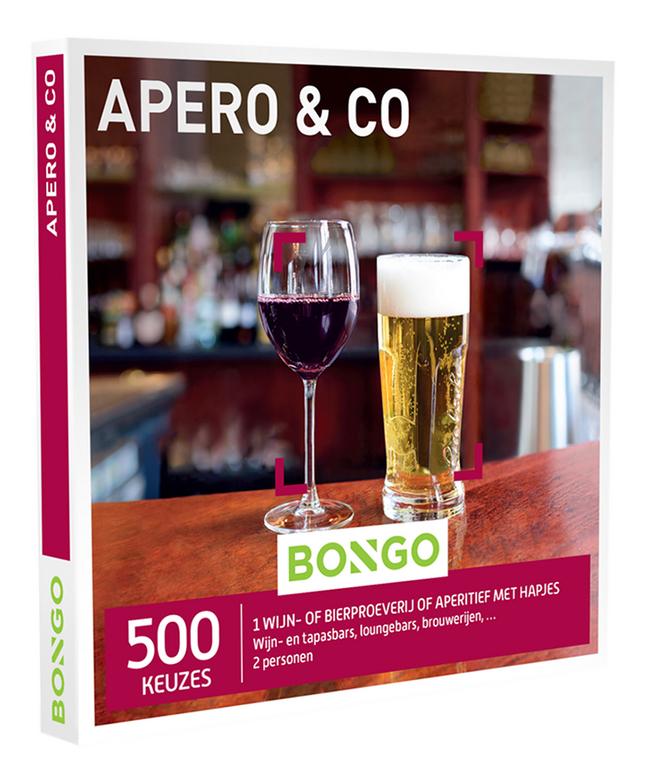 Bongo cadeaubon Apero & Co