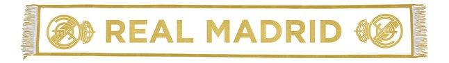 Image pour Écharpe Real Madrid blanc/or à partir de ColliShop