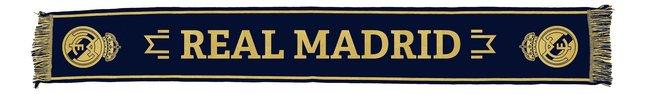 Image pour Écharpe Real Madrid marine/or à partir de ColliShop