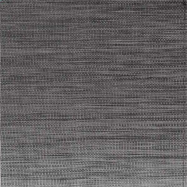 Afbeelding van 6 placemats met boord 45 x 33 cm zwart/grijs from ColliShop