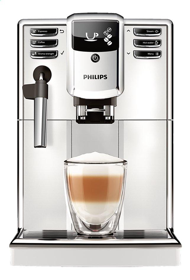 Image pour Philips Machine à espresso automatique avec mousseur à lait Series 5000 EP5311/10 blanc à partir de ColliShop