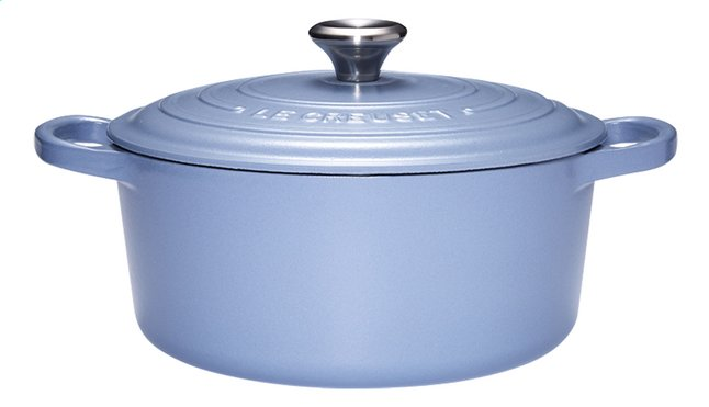 Image pour Le Creuset Cocotte ronde Signature bleu minéral 26 cm - 5,3 l à partir de ColliShop