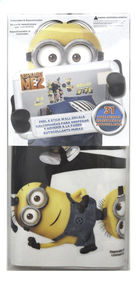 Afbeelding van Muurstickers Minions from ColliShop