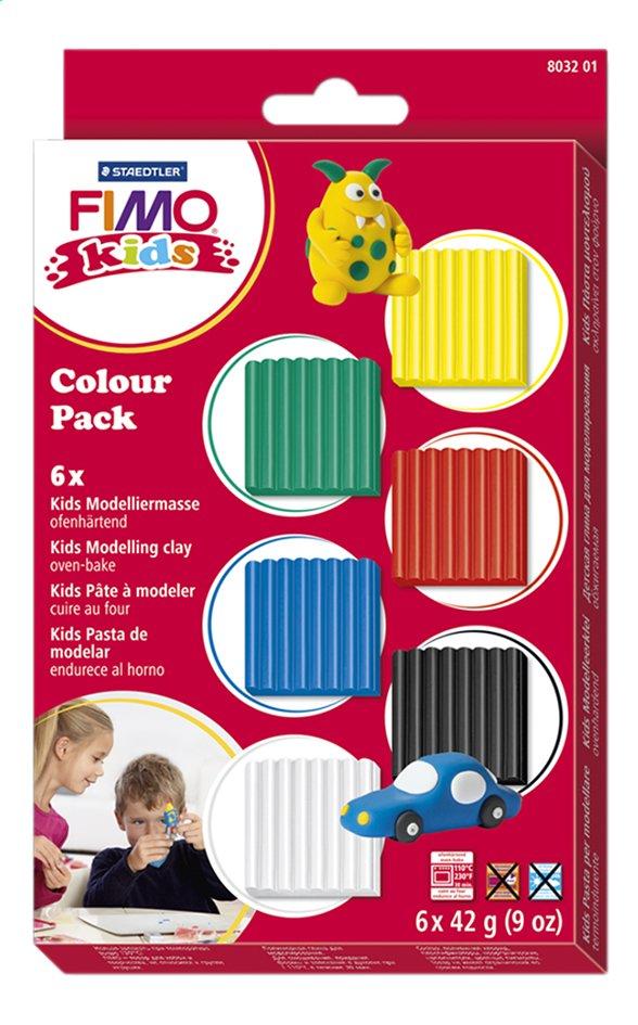 Image pour STAEDTLER FIMO kids Colour Pack Basic à partir de ColliShop