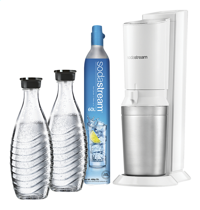 Image pour SodaStream Machine à soda Crystal Mega Pack blanc à partir de ColliShop