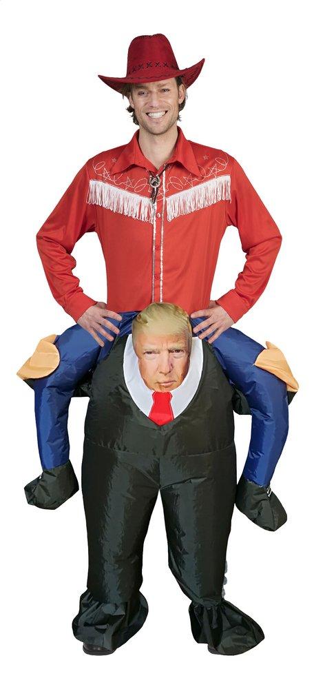Afbeelding van Verkleedpak opblaasbare Trump één maat from ColliShop