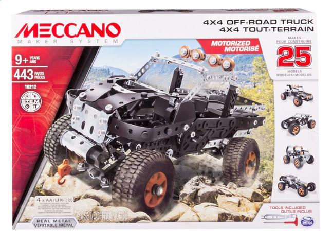 Afbeelding van Meccano 4x4 Truck from ColliShop