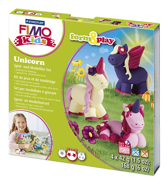 Image pour STAEDTLER FIMO kids form & play Unicorn à partir de ColliShop