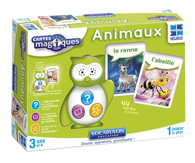 Afbeelding van Cartes Magiques - Animaux FR from ColliShop