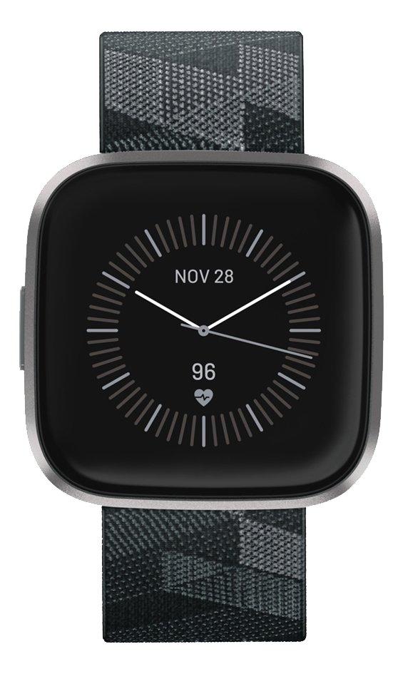 Fitbit montre connectée Versa 2 Special Edition tissé gris