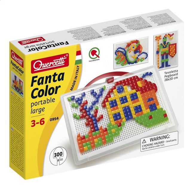 Quercetti mosaïques Fanta Color portable large 300 pièces