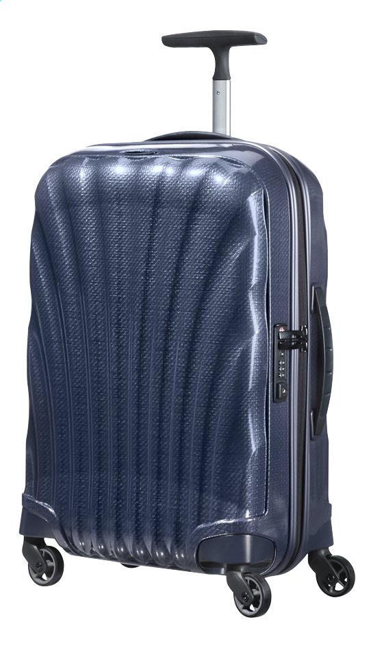 Afbeelding van Samsonite Harde reistrolley Cosmolite 3.0 Spinner midnight blue 55 cm from ColliShop