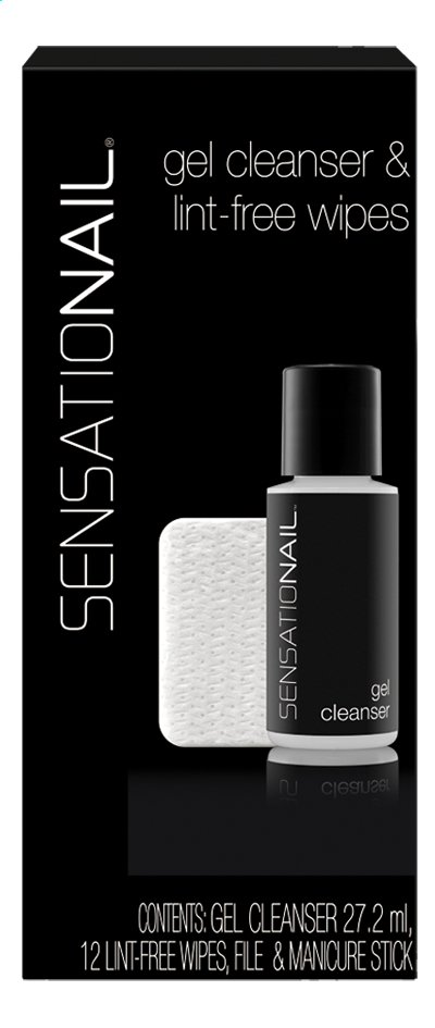 Afbeelding van SensatioNail Gel Cleanser & Lint-free Wipes from ColliShop