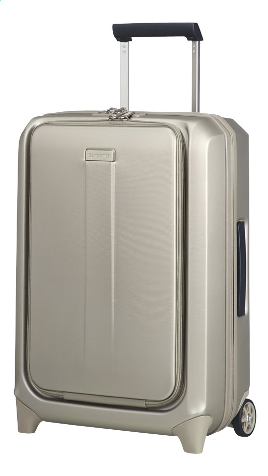 Afbeelding van Samsonite Harde reistrolley Prodigy Upright ivory gold 55 cm from ColliShop