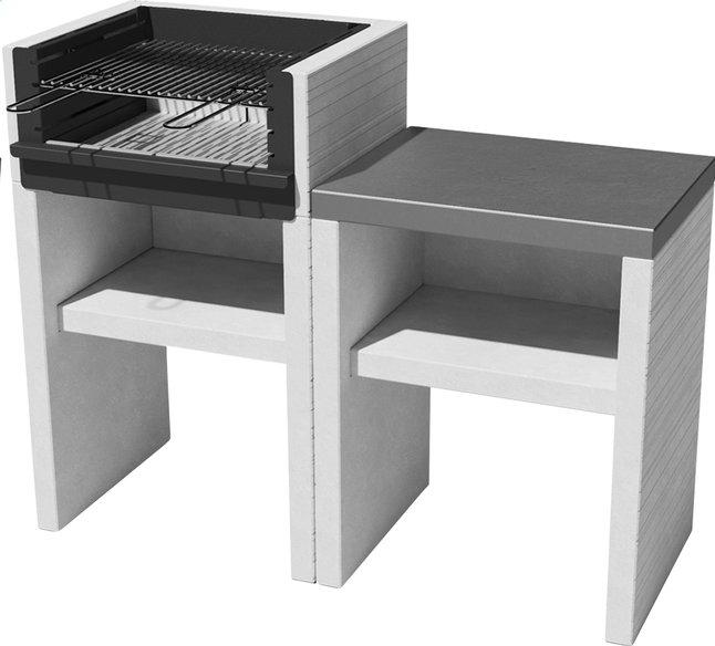 Image pour Venit barbecue au charbon de bois Flex L 120 x H 95 cm à partir de ColliShop