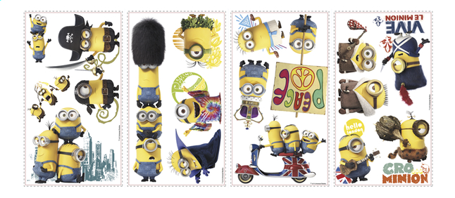 Image pour Stickers muraux Minions The Movie à partir de ColliShop