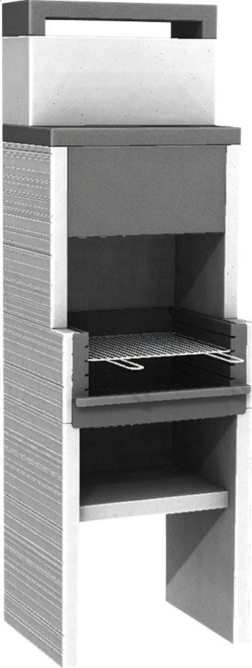 Image pour Venit barbecue au charbon de bois Flex L 60 x H 193 cm à partir de ColliShop