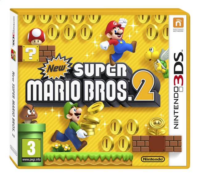 Image pour Nintendo 3DS New Super Mario Bros.2 FR à partir de ColliShop