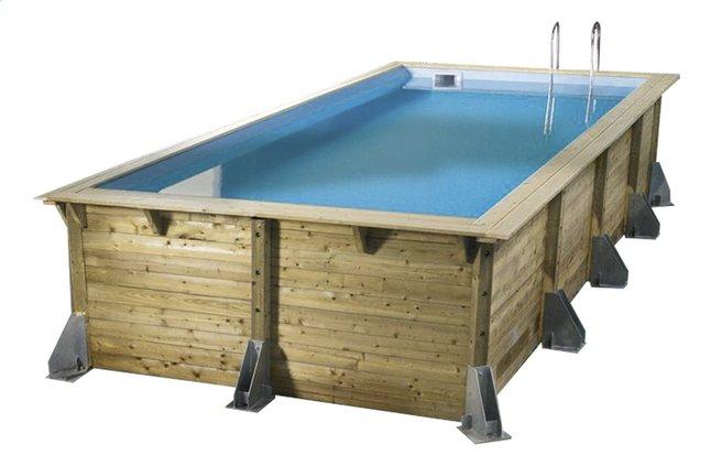 Image pour Ubbink piscine en bois Linea 3,50 x 5,05 m à partir de ColliShop