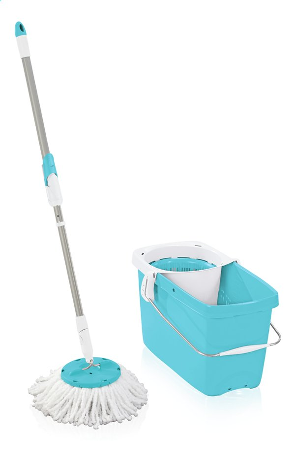 Afbeelding van Leifheit Set met mop CleanTwist sky blue from ColliShop