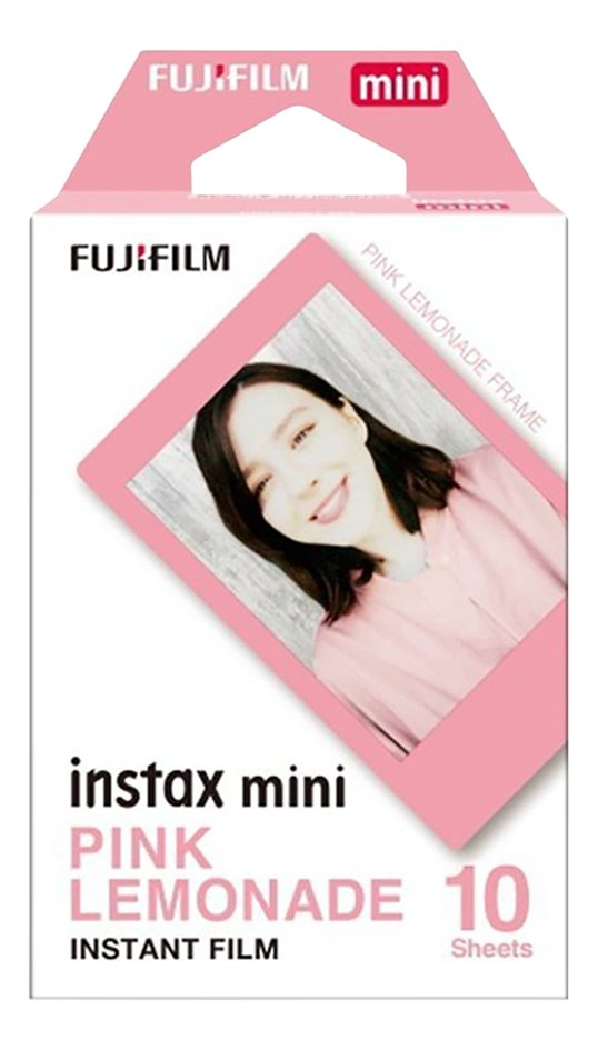 Image pour Fujifilm 10 photos Pink Lemonade pour Instax mini à partir de ColliShop