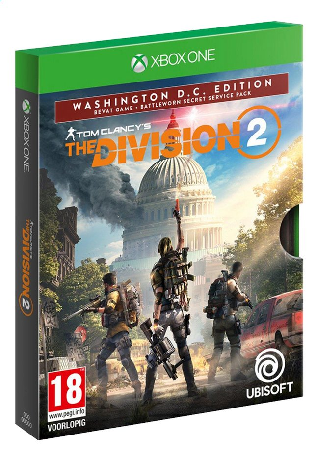 Afbeelding van Xbox One The Division 2 Wasington D.C. Edition ENG/FR from ColliShop