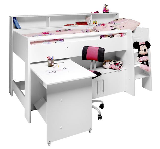 Image pour Lit mi-hauteur/bureau Ella à partir de ColliShop