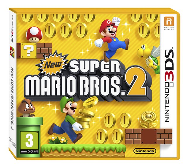 Afbeelding van Nintendo 3DS New Super Mario Bros. 2 NL from ColliShop