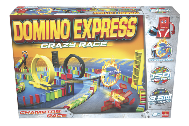 Afbeelding van Domino Express Crazy Race from ColliShop