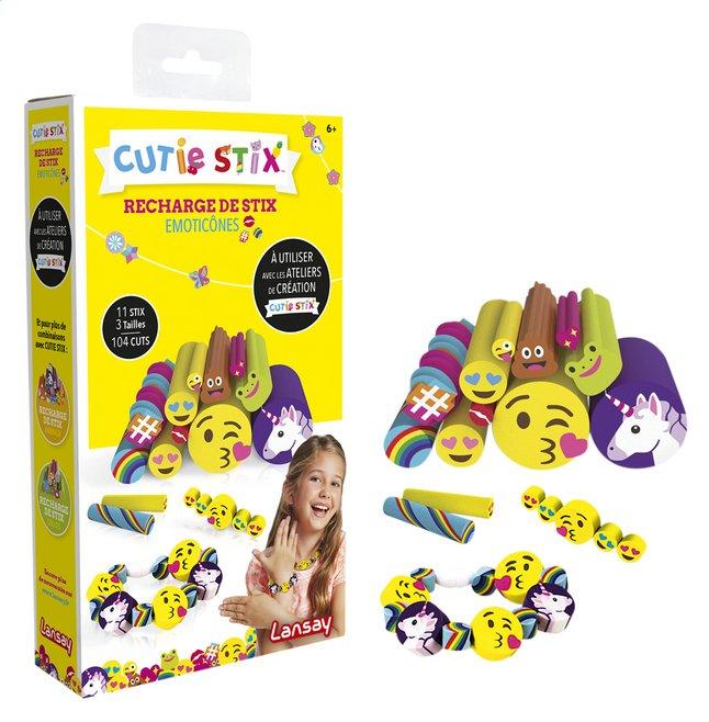 Image pour Lansay Cutie Stix Recharge emojis à partir de ColliShop