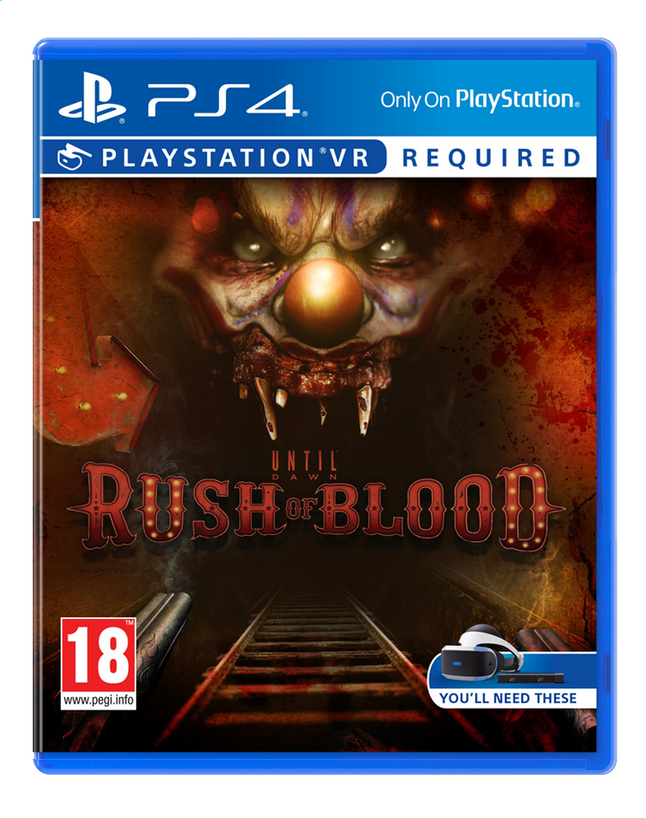 Afbeelding van PS4 VR Until Dawn: Rush of Blood ENG/FR from ColliShop
