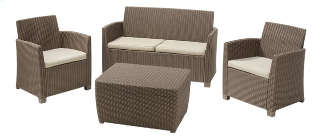 Afbeelding van Allibert Loungeset Corona cappuccino from ColliShop